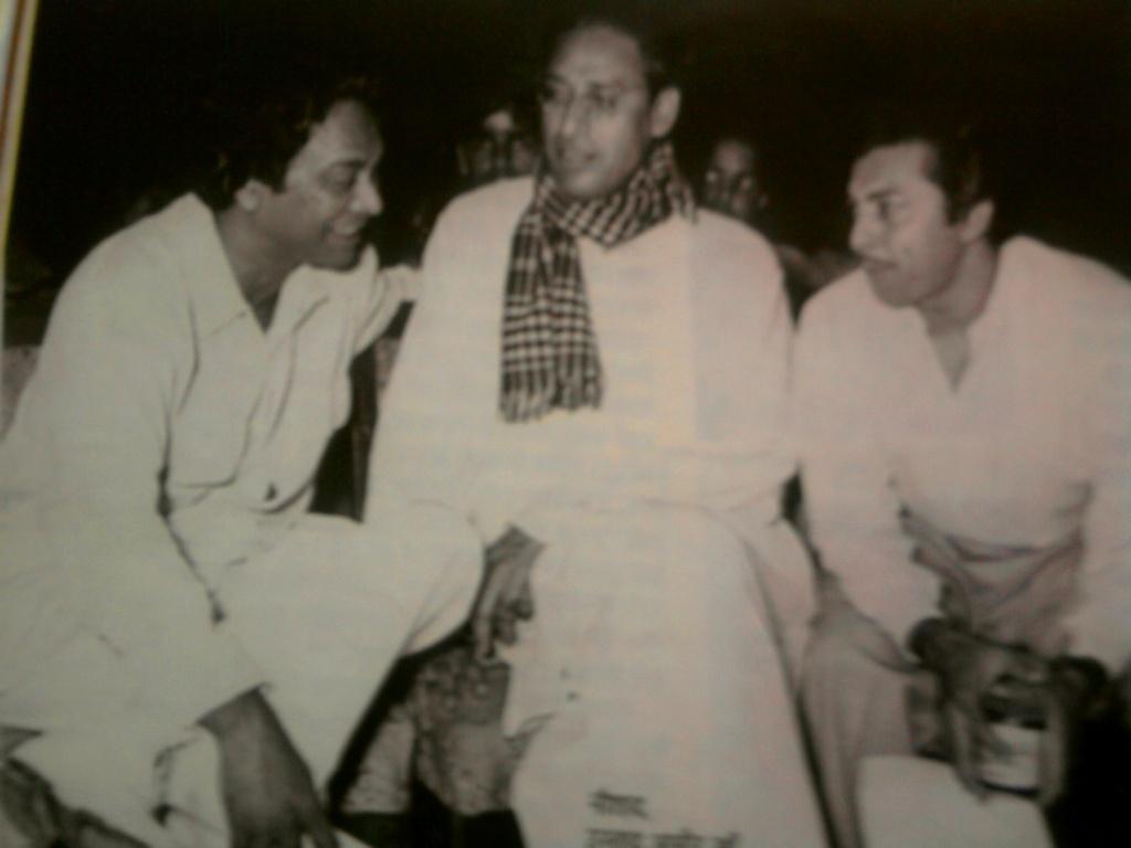 तीन महान संगीत साधक : कै. नौशादजी, कै. उस्ताद आमीर खांसाहब आणि कै. मदनमोहन