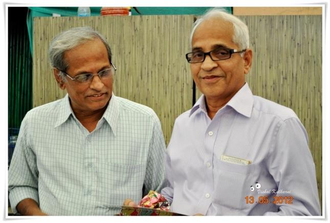 श्री. शरद आणि श्री. अरुण कोर्डे