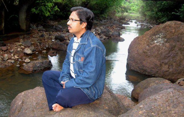 राघवेश्वराच्या शांत परिसरात अस्मादिक..